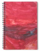 Untitled 106 Original Painting Spiral Notebook