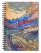 Untitled 107 Original Painting Spiral Notebook
