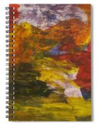 Untitled 113 Original Painting Spiral Notebook