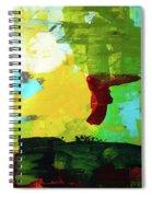 Untitled 20 Spiral Notebook