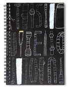 Untitled 2017 Spiral Notebook