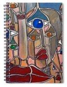 Untitled 83 Spiral Notebook