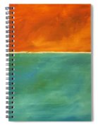 Untitled, Abstract Spiral Notebook