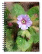 Untitled Floral -1 Spiral Notebook