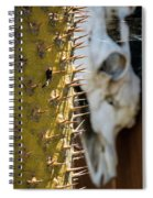 Death And Taxes Spiral Notebook