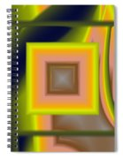 Untitled Xii Spiral Notebook
