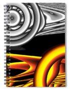 Untitled Xvii Spiral Notebook