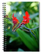 Unusual Flower 1 Spiral Notebook