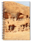 Unusual Rock Formation Spiral Notebook