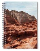 Unusual Rock Formations At Kodachrome Park, Utah Spiral Notebook