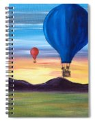 Up And Away Spiral Notebook