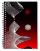 Up And Down Spiral Notebook