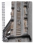 Up And Down Jacobs Ladder Spiral Notebook