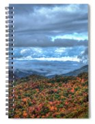 Up In The Clouds Blue Ridge Parkway Mountain Art Spiral Notebook