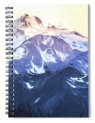Up In The Mountains II Spiral Notebook