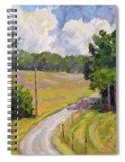 Up Orchard Lane Spiral Notebook