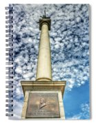 Up The Lovejoy Monument  Spiral Notebook