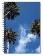 Up To The Sky Palms Spiral Notebook