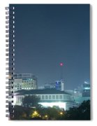 Up Town Cebu City Lights Spiral Notebook