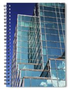 Up Town Phoenix Building Spiral Notebook