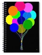 Upbeat Balloons Spiral Notebook