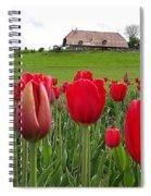 Upbeat Season Greetings 1 Spiral Notebook