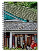 Upcountry Chimes Spiral Notebook