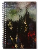 Upheaval Of The Night  Spiral Notebook