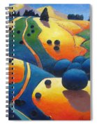 Uphill Climb Revisited. Spiral Notebook