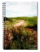 Uphill Curve Spiral Notebook
