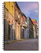 Uphill In Avila Spiral Notebook
