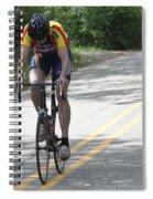 Uphill Spiral Notebook