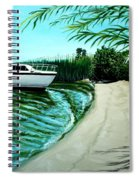 Upon Ashore Spiral Notebook