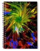 Upon The Gathering Spiral Notebook