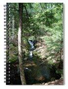 Upper Adler Falls 4405 Spiral Notebook