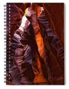 Upper Antelope Canyon, Arizona Spiral Notebook