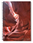 Upper Antelope Lights Spiral Notebook