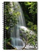 Upper Catawba Falls Spiral Notebook