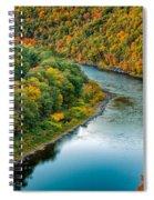 Upper Delaware River Spiral Notebook
