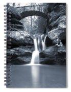 Upper Falls Hocking Hills Ohio Spiral Notebook