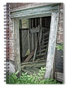 Upper Hoist Doorway Spiral Notebook