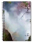 Upper Kaaterskill Falls Spiral Notebook