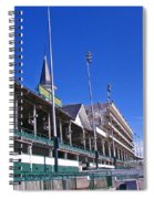 Upper Level Viewing Stands At Churchill Downs Spiral Notebook