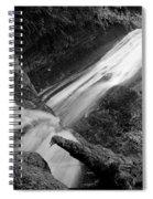 Upper Madison Creek Falls Three Spiral Notebook