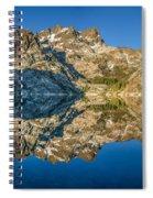 Upper Sardine Lake Panorama Spiral Notebook