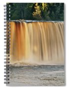 Upper Tahquamenon Falls 6279 Spiral Notebook
