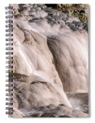 Upper Terrace Closeup Spiral Notebook