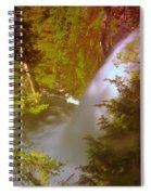Upper Union Creek Falls  Spiral Notebook