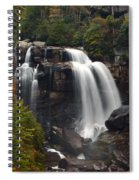Upper Whitewater Falls - Nc Spiral Notebook