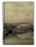 Upstream -bridge D.luis I-oporto Spiral Notebook